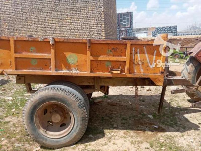 فروش تریلی تراکتور دسته دوم قیمت مناسب در اصفهان