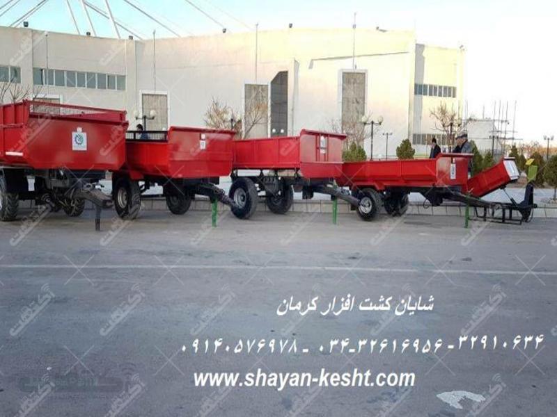 تولید انواع تریلر از 2.5 الی 12 تن و بکهو لودر سبک
