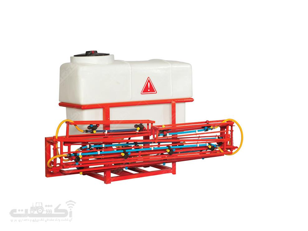 تولید سمپاش سوار شونده بوم دار 8 و 10 متری