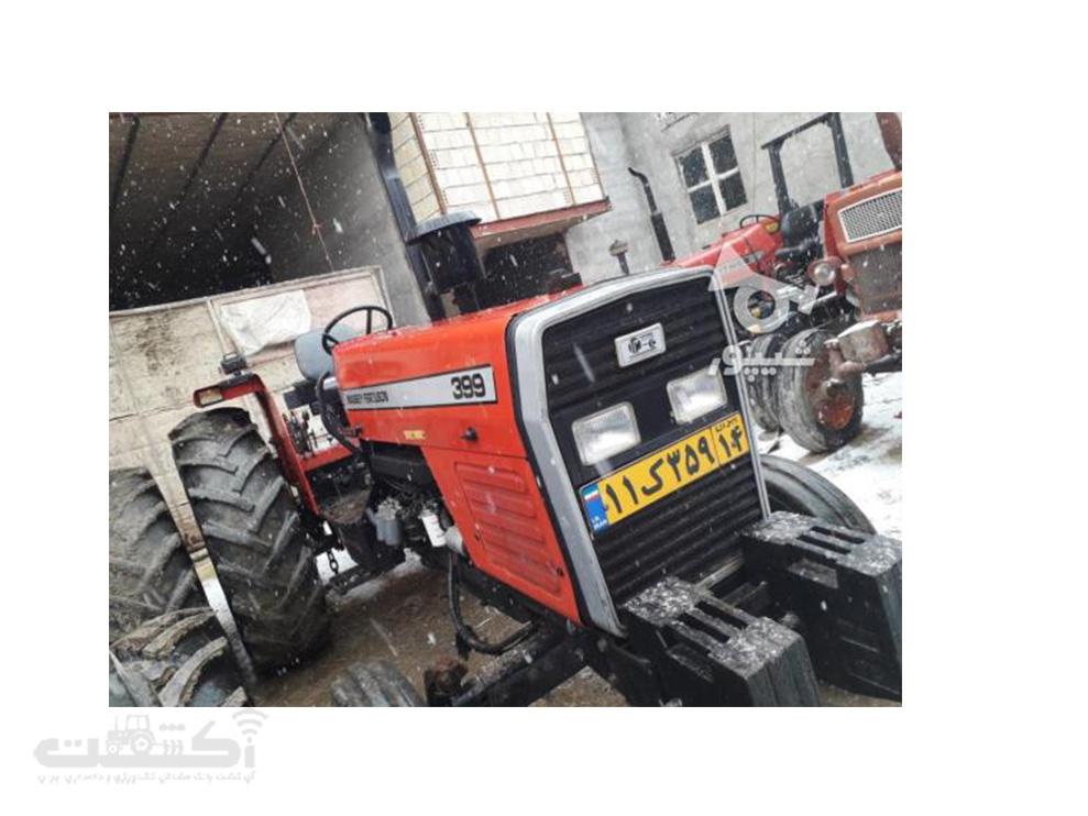 فروش تراکتور کارکرده تمیز در همدان