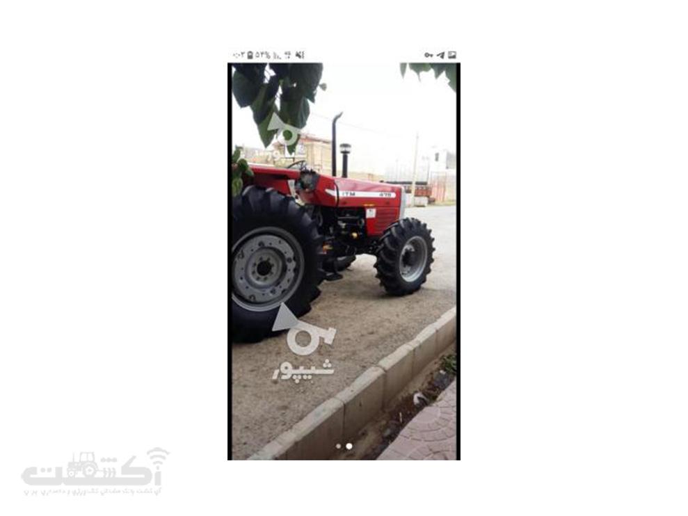 فروش تراکتور در حد نو در آذربایجان غربی