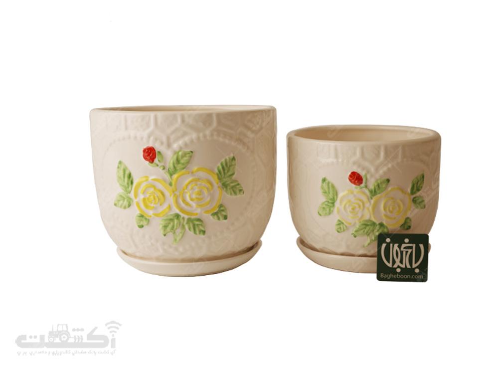 فروش گلدان سفالی مدل 14.40