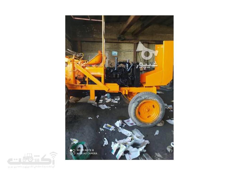 فروش تراکتور رومانی کارکرده تمیز در اصفهان