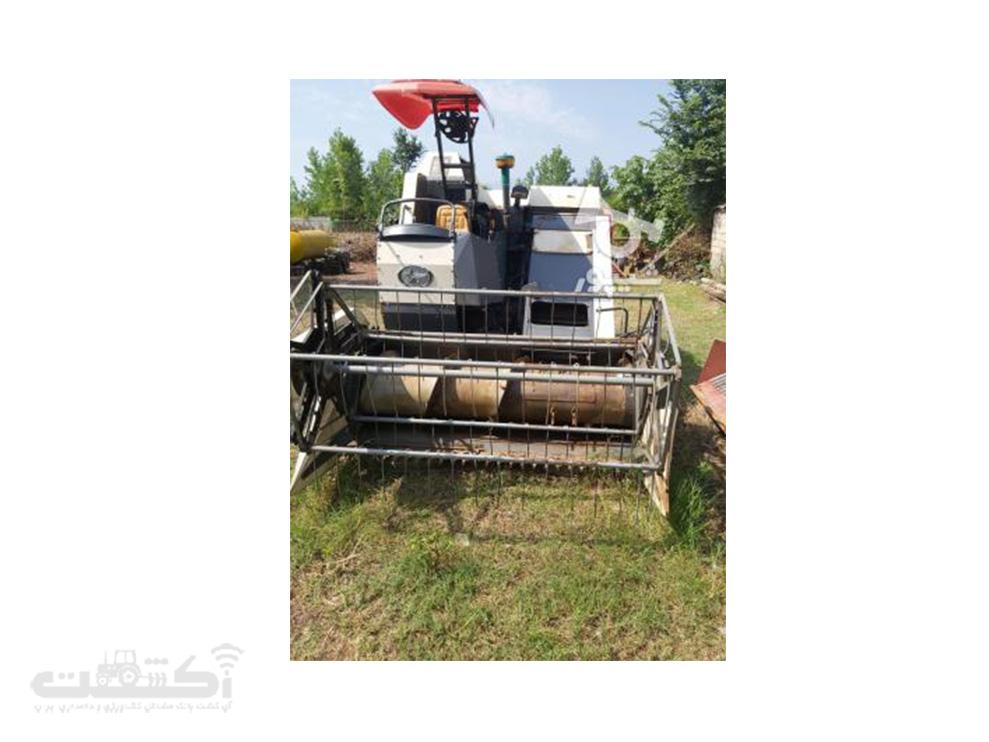 فروش کمباین برنج کارکرده تمیز در گیلان