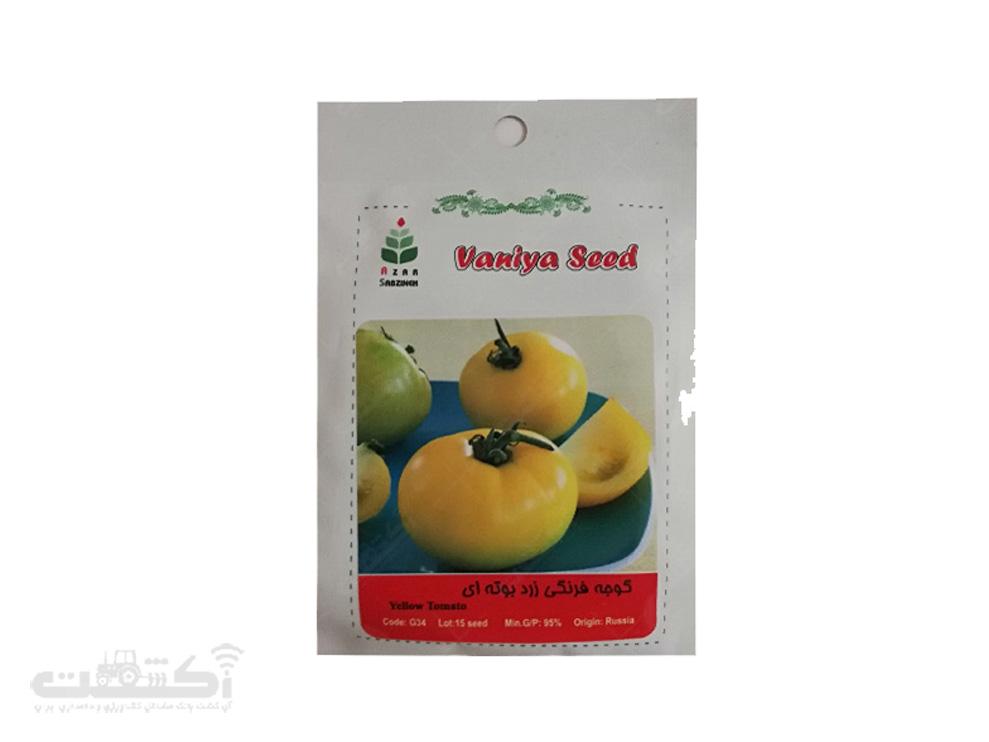 فروش بذر گوجه فرنگی زرد