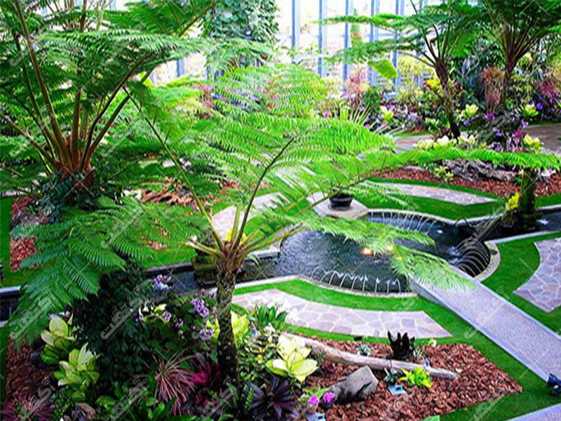 شرکت باغ گیاهان سبز