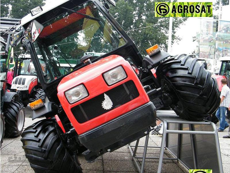تراکتور فرمان شکن باغی مدل AGT 850