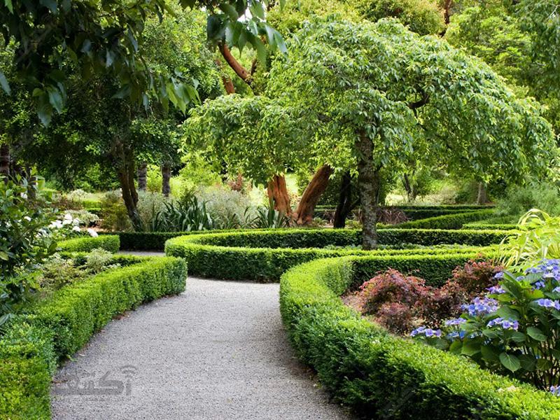 طراحی انوع محیط ها و باغ های فضای سبز