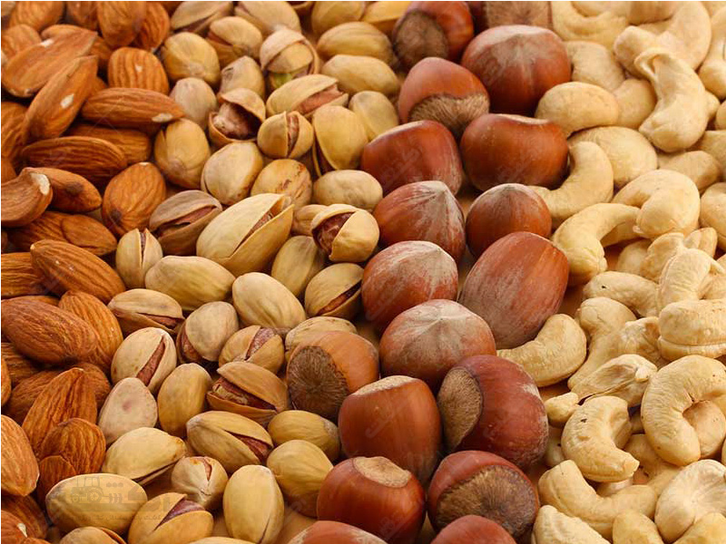 صادرات خشکبار و میوه خشک