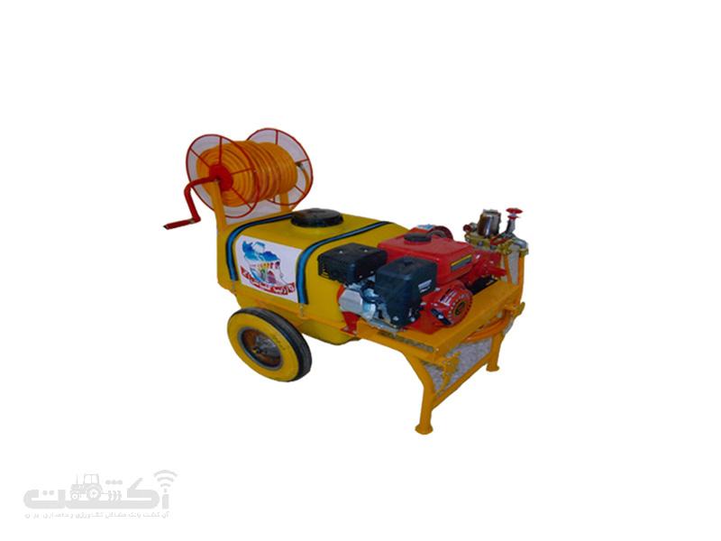 سمپاش چرخدار موتوری (فرغونی)