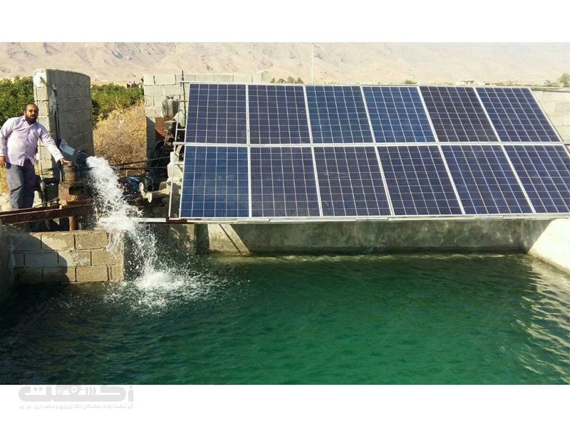 شرکت آرشید، سیستم آبیاری خورشیدی