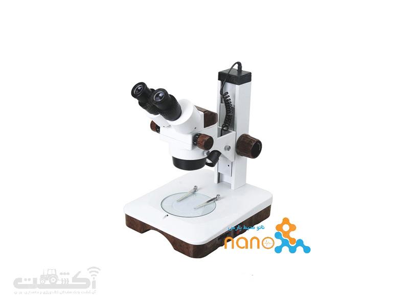 استریو میکروسکوپ دو چشمی زومیک