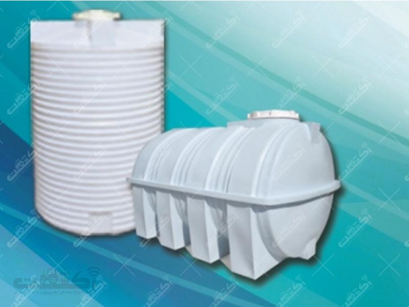 مخزن تانک وان منبع پالت تانکر آب پلی اتیلن پلاستیکی