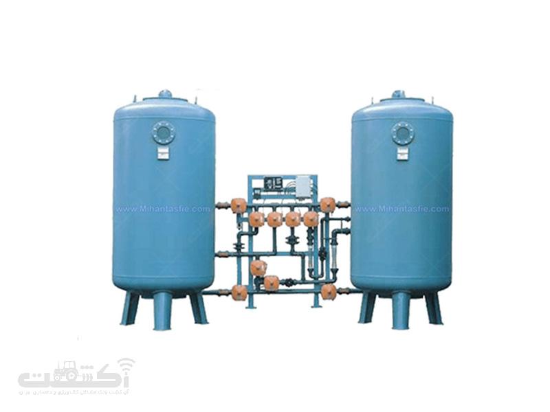 دستگاه سختی گیر آب