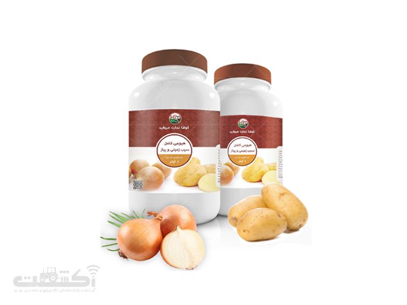 کود تقویتی هیومی کامل کُتِم سیب زمینی و پیاز