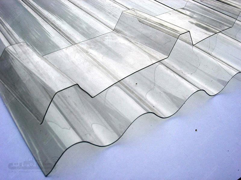 تولید ورق پلی کربنات موجدار جهت پوشش گلخانه