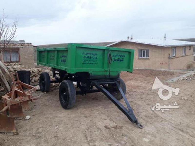 فروش تریلی کارکرده تمیز در کردستان