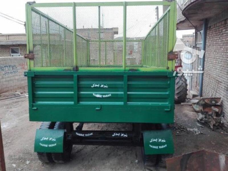 فروش تریلی تراکتور دسته دوم در آذربایجان غربی