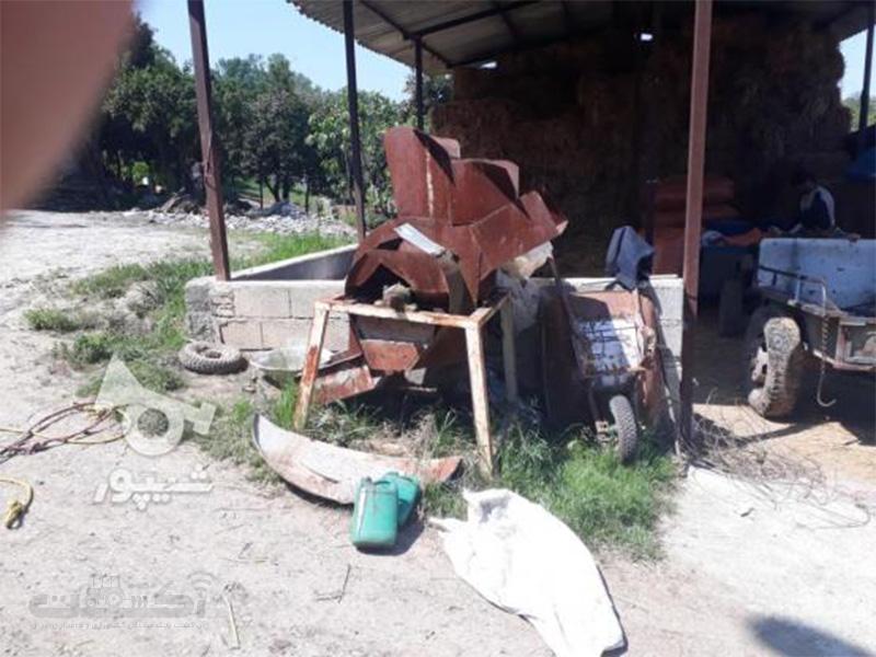 فروش دستگاه خردکن چغندر دسته دوم در مازندران