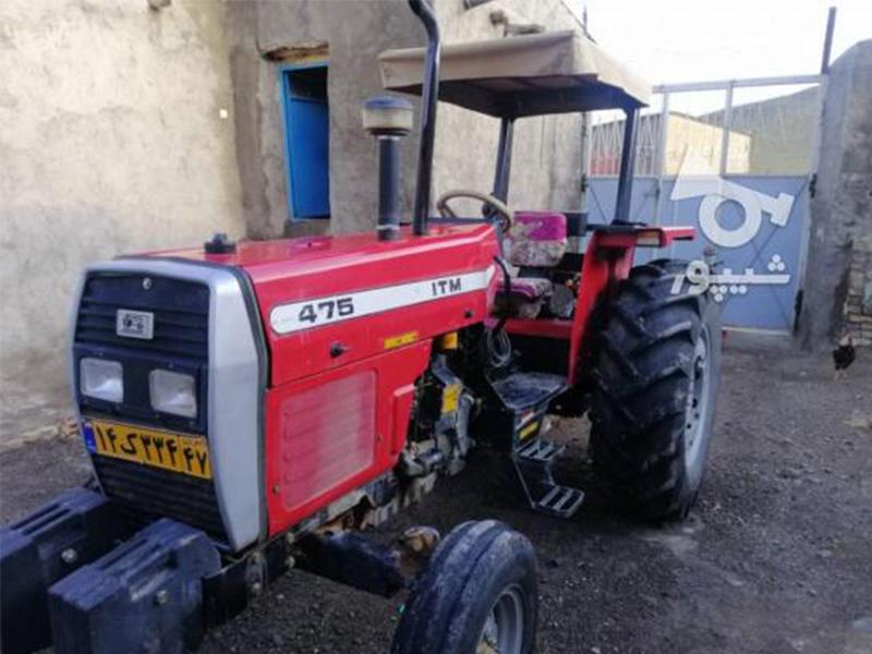فروش تراکتور در حد نو در همدان