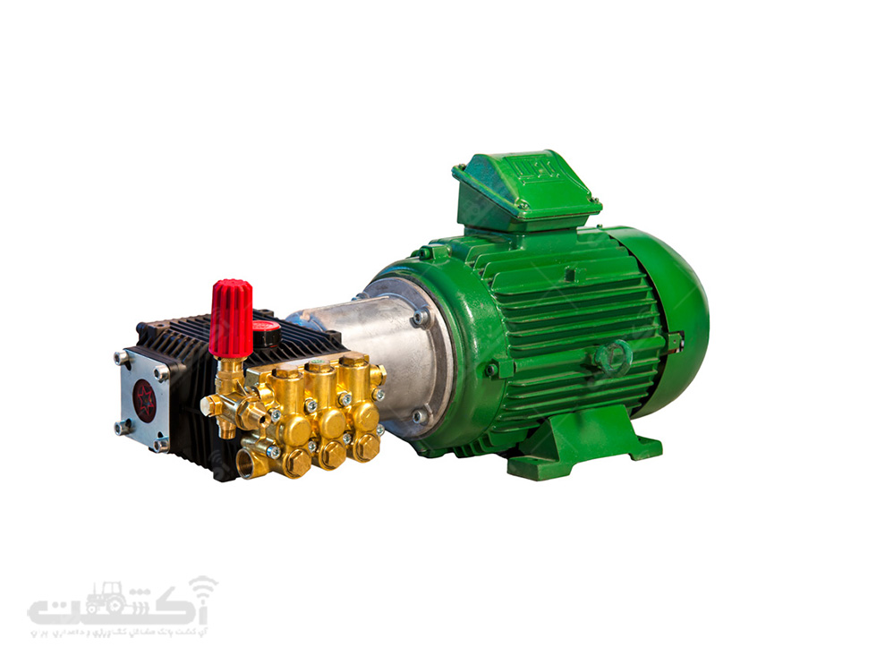 تولید الکتروپمپ TTL1530 با الکتروموتور وگ برزیل