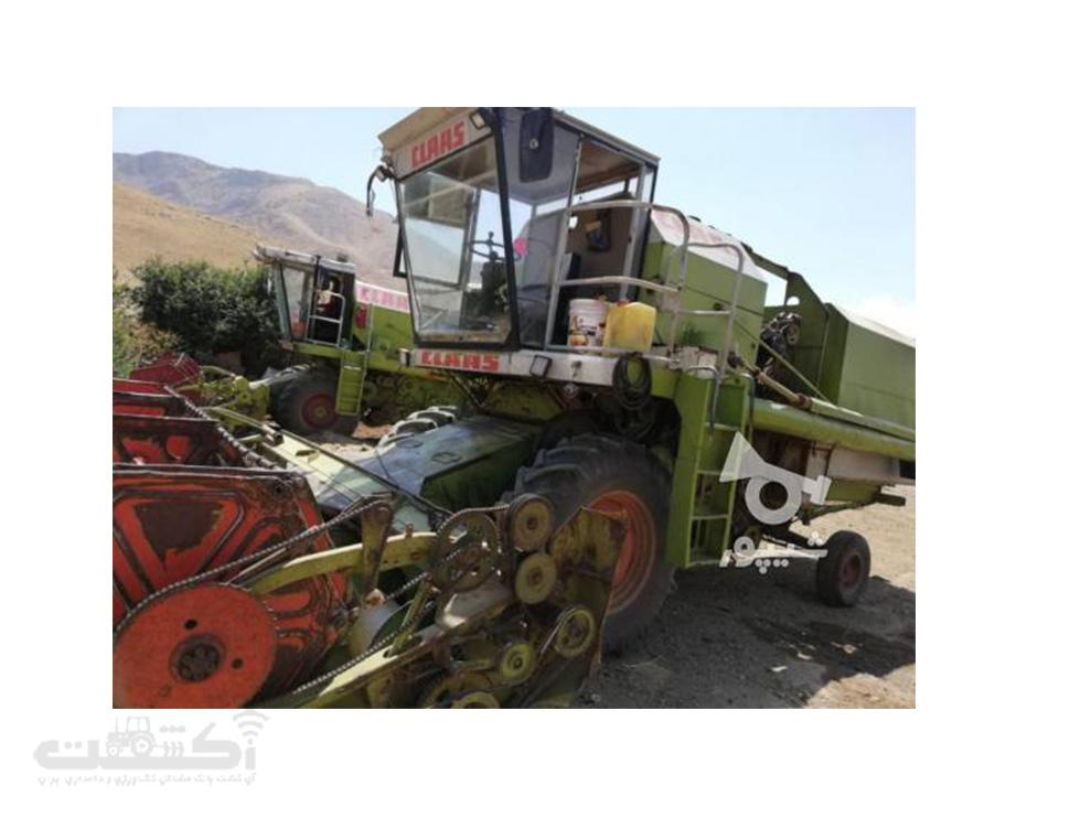فروش کمباین کاه کوب دسته دوم در آذربایحان غربی
