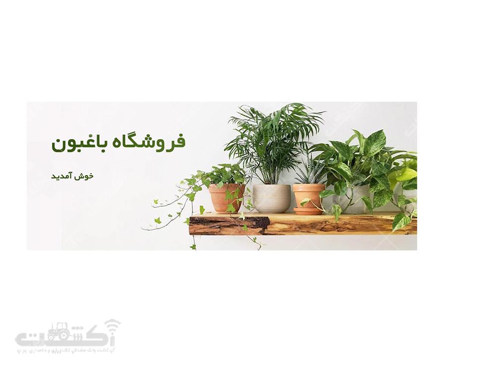 فروشگاه اینترنتی گل و گیاه باغبون