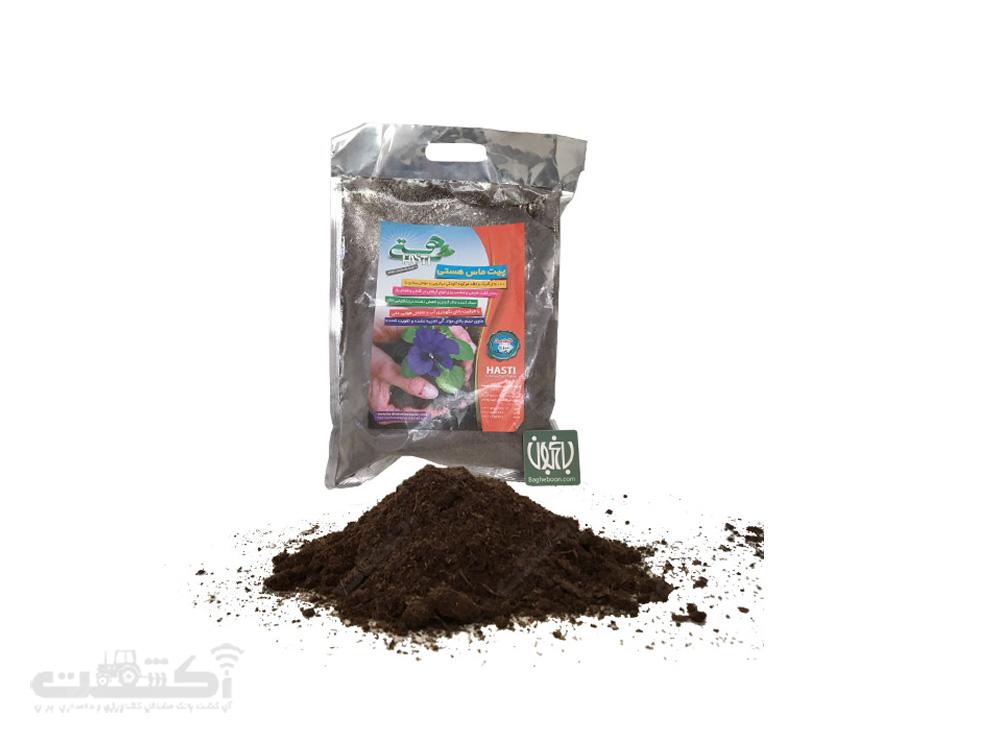 فروش خاک بستر پیت ماس هستی