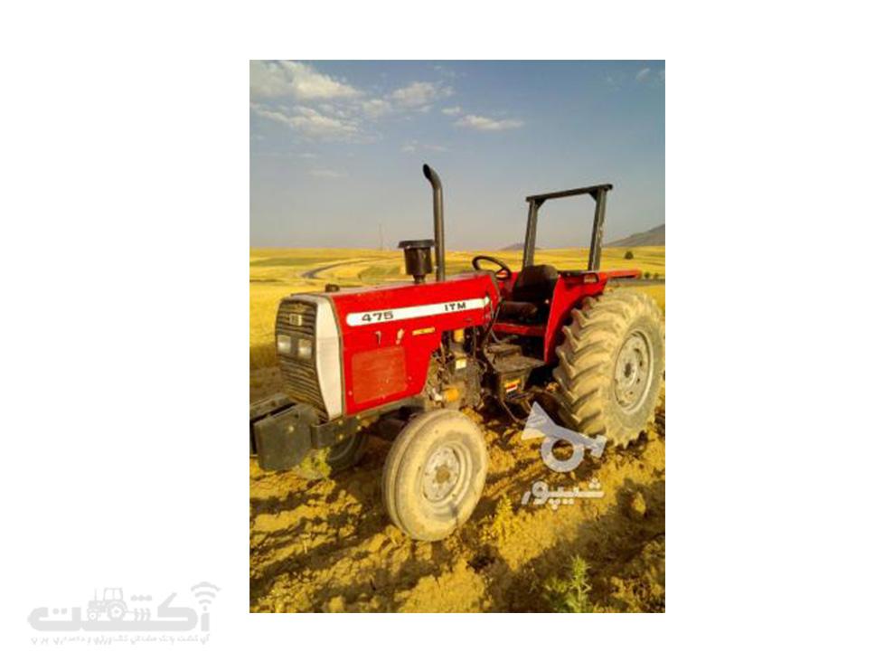 فروش تراکتور 475 دسته دوم در کرمانشاه