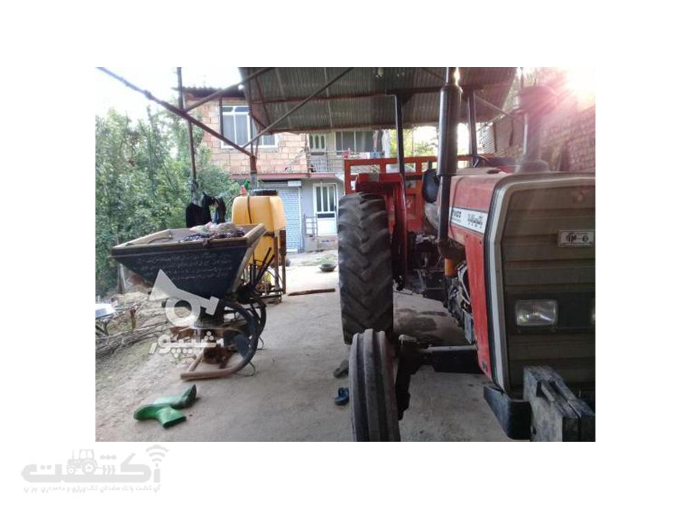 فروش تراکتور دسته دوم قیمت مناسب در مازندران