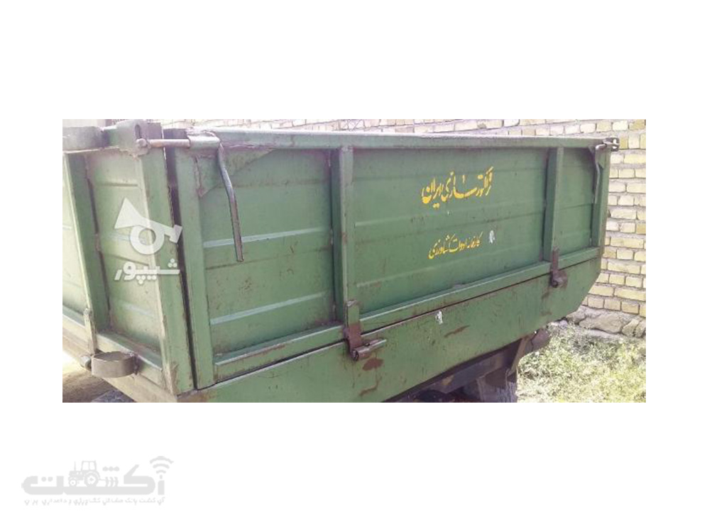 فروش تریلی کارکرده تمیز در آذربایجان شرقی