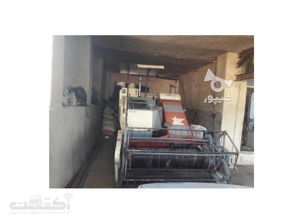 فروش کمباین زنجیری دسته دوم در گلستان