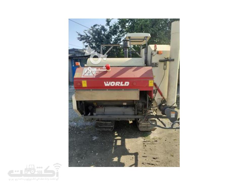فروش کمباین کارکرده تمیز در مازندران