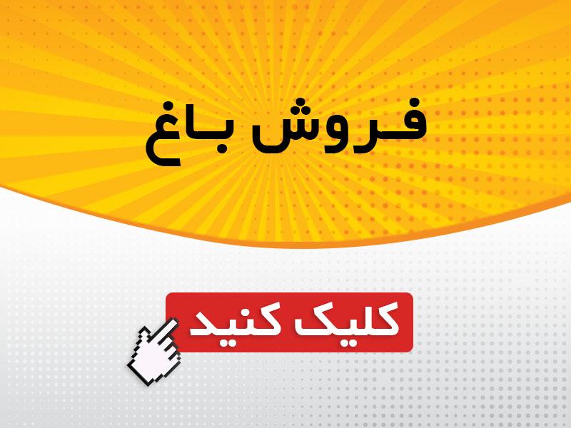 فروش باغ با قیمت استثنایی در تهران
