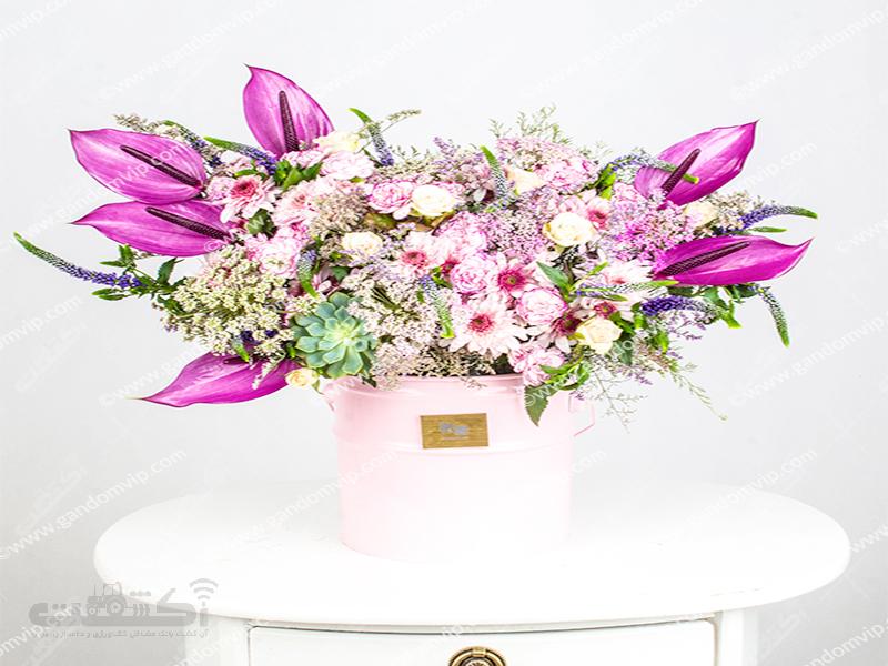 فروش جعبه گل