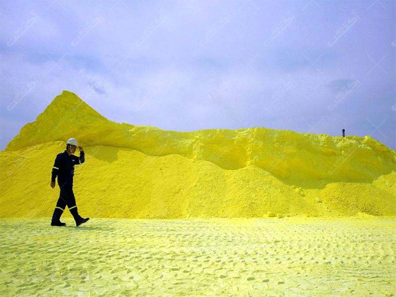 بزرگترین تولید کننده گوگرد Sulfur