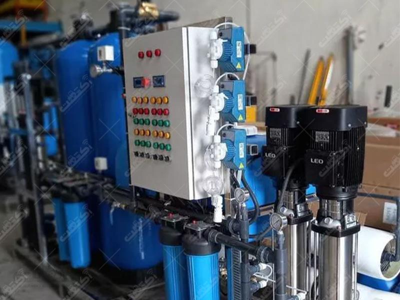 تصفیه آب صنعتی شرکتی آب فروشی کشاورزی