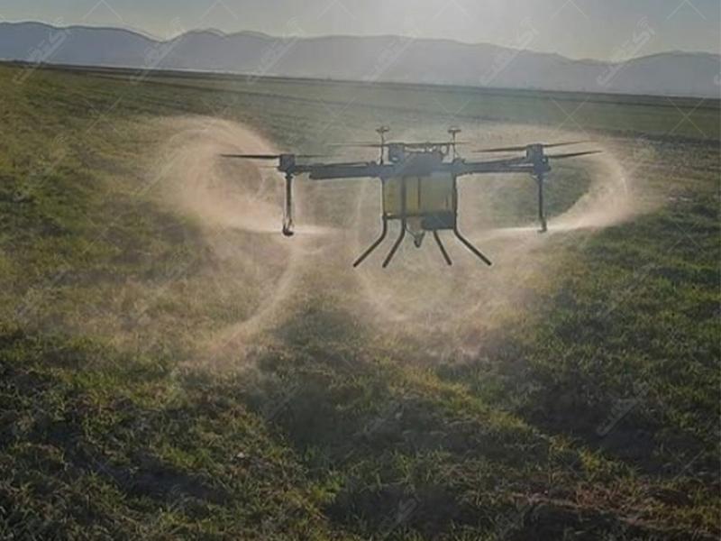 فروش و اجرای خدمات پهپادهای کشاورزی سیرنگ