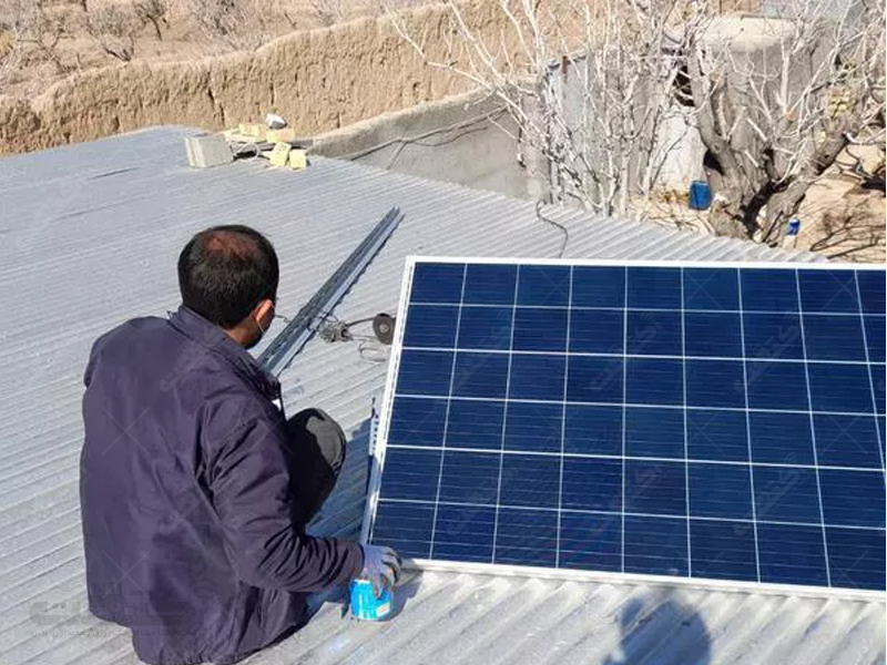 برق خورشیدی جهت مصارف کشاورزی و دامداری