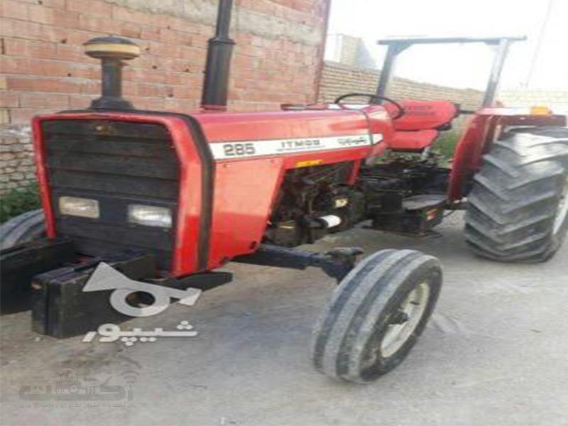 فروش تراکتور 285 کارکرده مدل 91