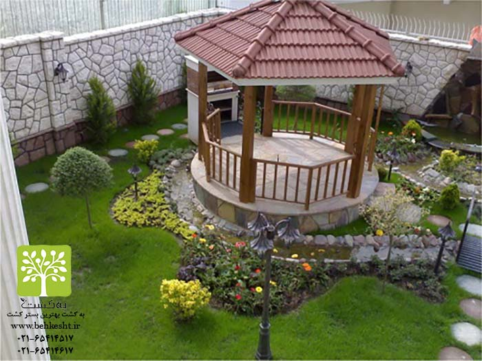 طراحی و اجرای فضای سبز و انواع سیستم های آبیاری