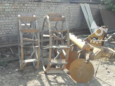 فروش چرخ آهنی و گاوآهن