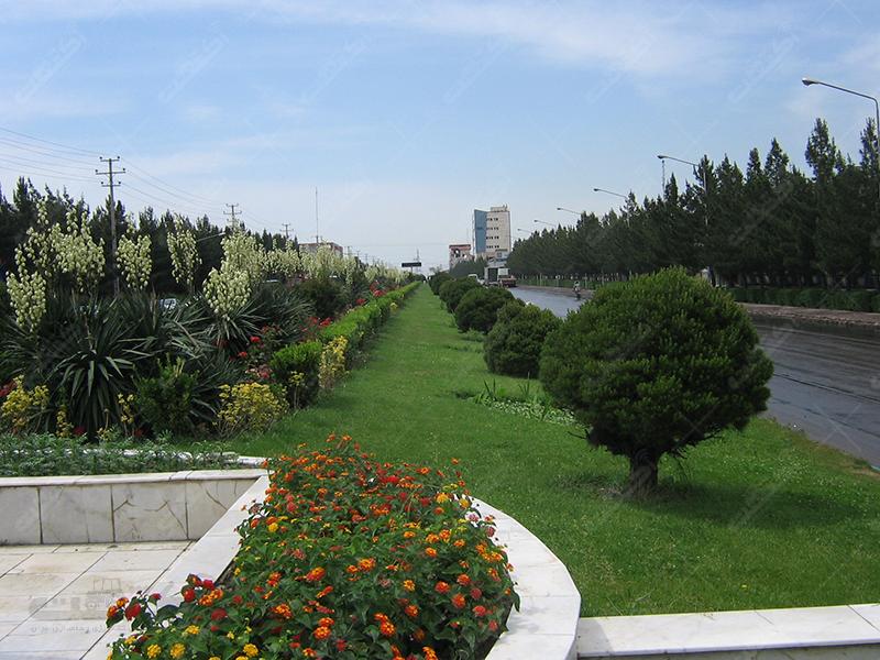 شرکت باغ سبز آسمان
