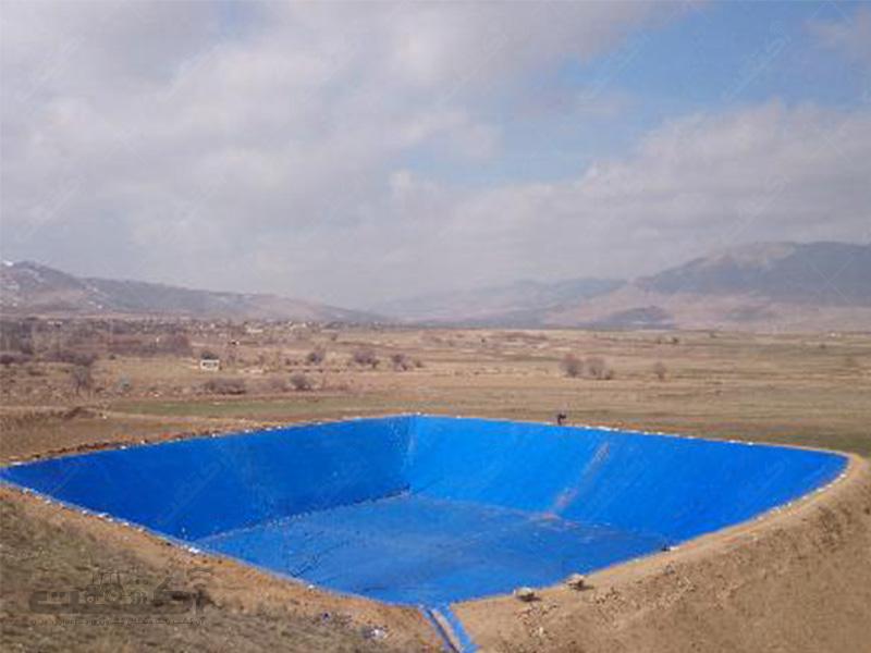 استخر ذخیره آب